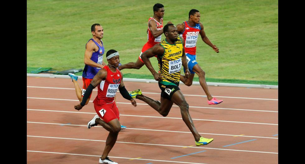 ¿Corren o vuelan? Las impresionantes fotos de Bolt y Gatlin - 3