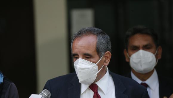 El congresista Ricardo Burga se mostró a favor de que Manuel Merino pueda ser elegido vocero de la bancada de Acción Popular. (Foto: GEC)