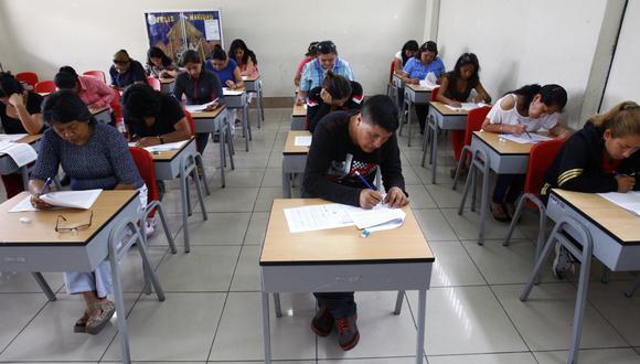 Desde el 2007, con la entrada de la Ley de la Carrera Pública Magisterial, el ingreso a la carrera docente se realiza a través de concurso público. (Foto: referencial)