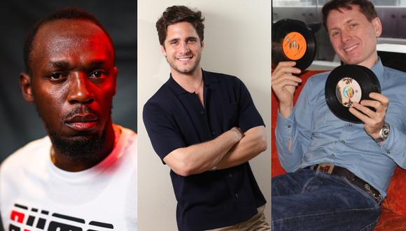 Algunas de las celebridades que estuvieron de visita por Lima y fueron entrevistados por Somos.