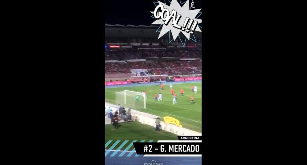 Snapchat vibró al ritmo del partido Chile vs. Argentina [FOTOS] - 7