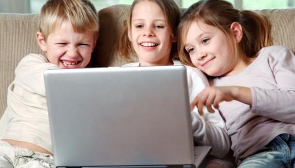Reino Unido: niños pasan más tiempo en Internet que viendo TV