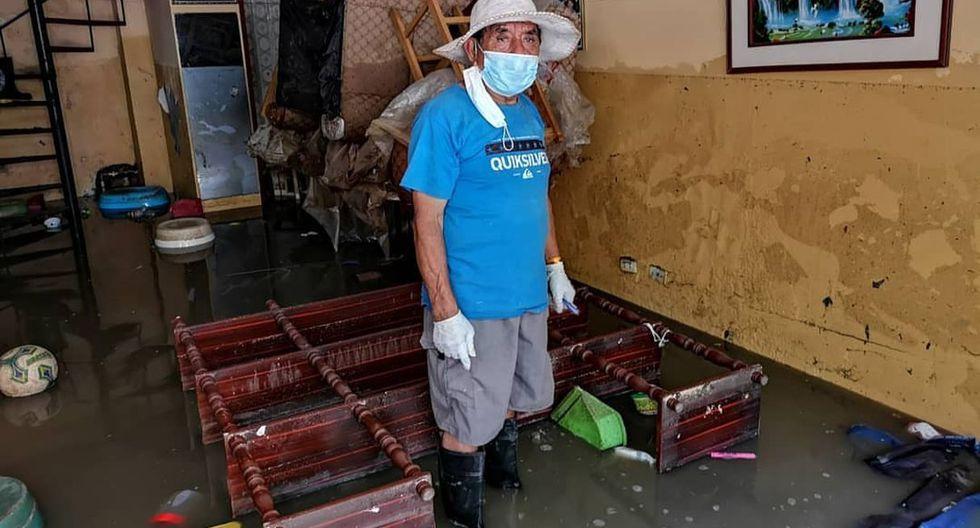 El 13 de enero, la rotura de una tubería de desagüe afectó a casi 2.000 personas en San Juan de Lurigancho. A dos meses, continúan los trabajos, la estación está cerrada y varias familias dicen que siguen afectadas. (Anthony Niño de Guzmán / Archivo)