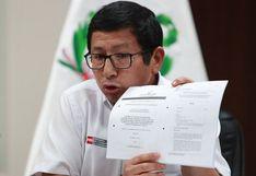 """Edmer Trujillo: """"El presidente Vizcarra no emitió ninguna disposición que diga haz tal o cual cosa"""""""