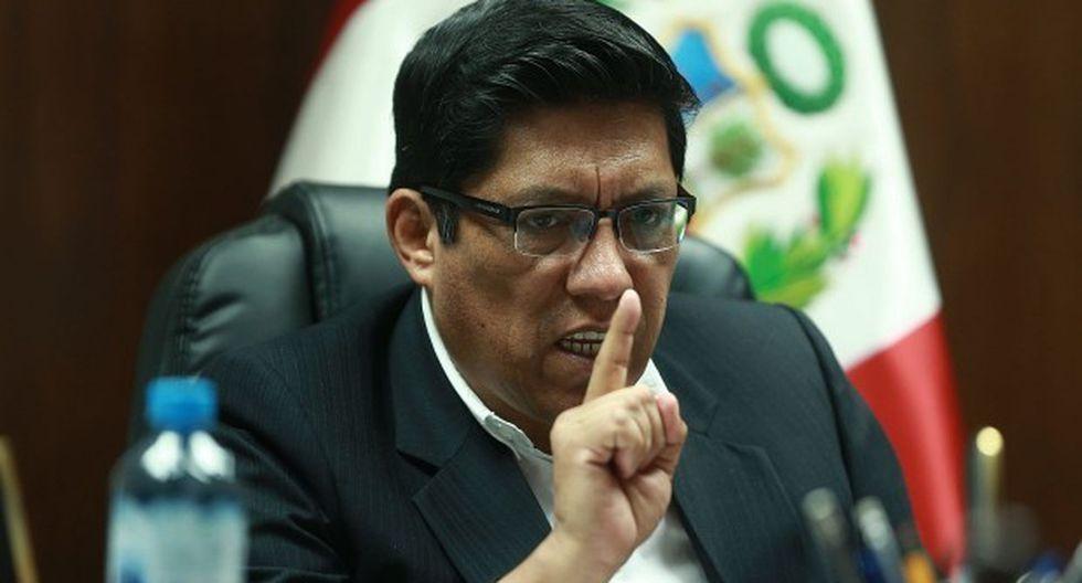 Vicente Zeballos evita hacer conjeturas sobre la posibilidad de que los proyectos del Ejecutivo sufran cambios. (Foto: Rolly Reyna/ GEC)
