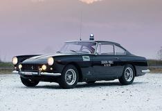 Un clásico Ferrari 250 GTE que perteneció a la policía italiana sale a la venta   FOTOS