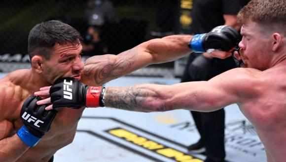 Rafael Dos Anjos venció a Paul Felder por decisión dividida. (Foto: UFC)