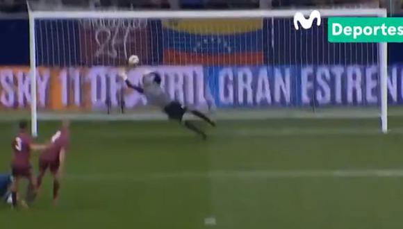 Lionel Messi originó una gran jugada de gol pero Wuilker Faríñez evitó el empate con monumental atajada. (Foto: Movistar TV).