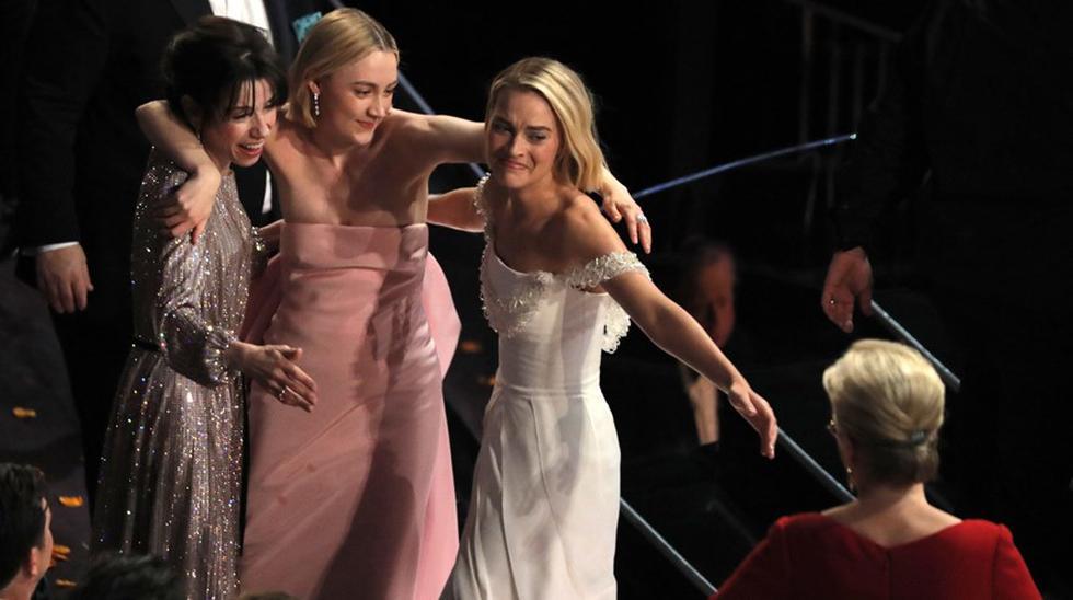 Frances McDormand en los Oscar 2018. (Foto: Agencias)