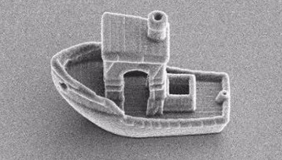 El barco más pequeño de la Tierra. (Foto:  LEIDEN UNIVERSITY)
