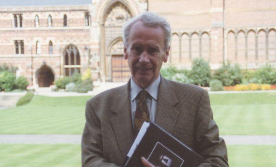 """Christopher Tolkien, hijo del escritor de """"El señor de los anillos"""" J.R.R. Tolkien, falleció a los 95 años. (Foto: Twitter)"""