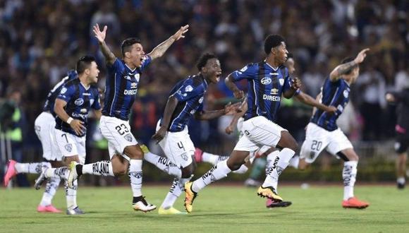 Emelec perdió 3-1 frente a Independiente del Valle por la  jornada 4 de la Serie A de Ecuador. El encuentro se disputó en el Estadio Rumiñahui (Foto: agencias)