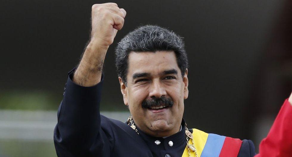 Nicolás Maduro, presidente de Venezuela. (AP).