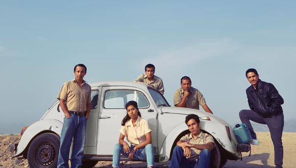 En los extremos Martin Rivas (Sandro Calderón, izquierda) y Jesús Sosa (Alaín Salinas, derecha), alias 'Kerosene'. Este último es el personaje principal. Hoy ambos –ex integrantes del grupo Colina– están en la cárcel.