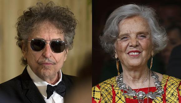 Elena Poniatowska opinó sobre premio Nobel a Bob Dylan
