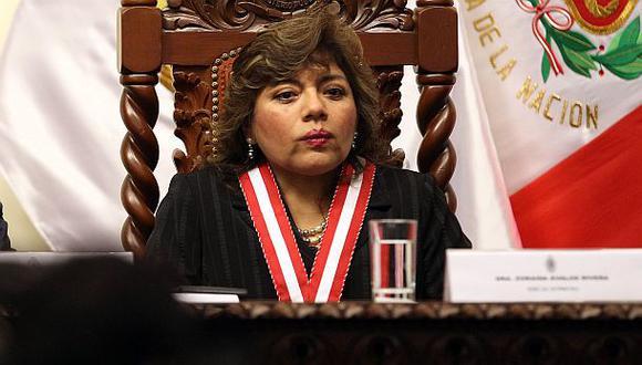 Zoraida Ávalos no quiso explicar por qué votó por Ramos Heredia