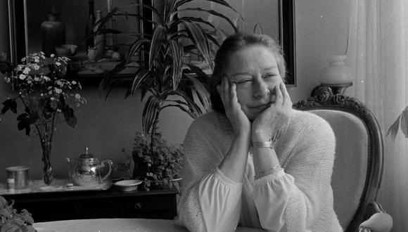 La cantautora en su casa. Año 1979. (Foto: Archivo Histórico El Comecio).