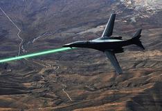 Aviones de EE.UU. tendrán armas láser para el 2023