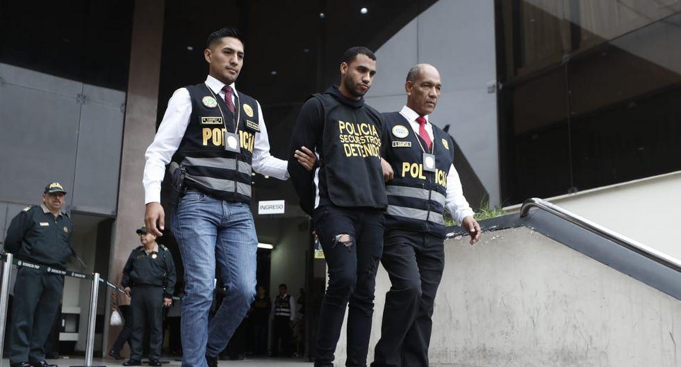 """Ocho ciudadanos venezolanos están acusados de pertenecer a la banda """"Los Feroces Chamos de La Molina"""", la cual intentó secuestrar a la hija de un empresario textil la semana pasada. (Foto: César Campos)"""