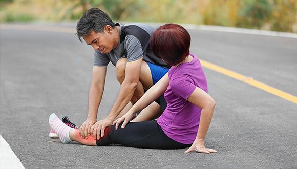 Nunca subestimes un dolor, aplica estas soluciones y sigue corriendo.
