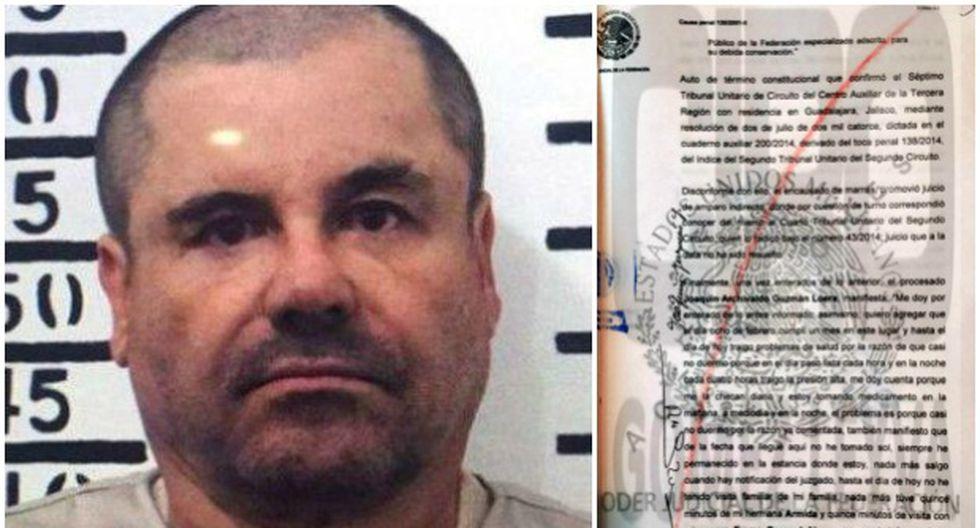 La dura realidad que enfrenta El Chapo Guzmán en prisión