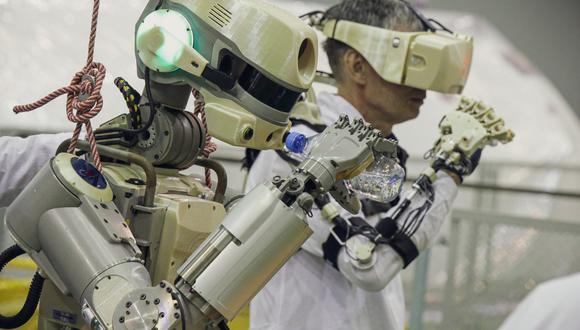 Fedor es el primer androide que usó Rusia en el espacio. Ahora será reemplazado por un nuevo modelo. (Foto: AFP)