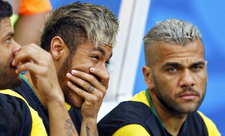 Dunga cargó contra Neymar y Alves por sus peinados y gorritas