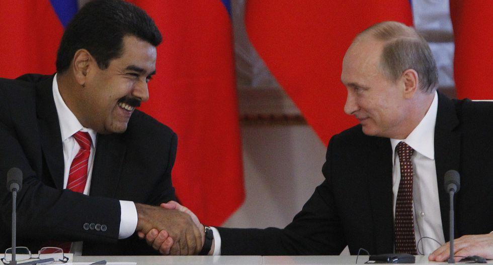 El gobierno de Rusia, de Vladimir Putin, respaldó a Nicolás Maduro y acusó a Estados Unidos de intentar usurpar el poder en Venezuela. Foto: Archivo de AFP