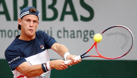 Diego Schwartzman se llevó el primer set en el duelo ante Rafael Nadal por cuartos de Roland Garros. (Foto: Reuters)