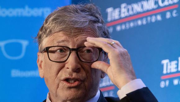 El cofundador de Microsoft, Bill Gates, habla en el Economic Club of Washington en Washington, DC, el 24 de junio de 2019 (Foto: NICHOLAS KAMM / AFP).