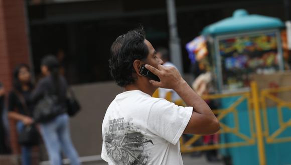Según Nakagawa, el mínimo debería ser 3G. (Foto: César Fajardo | GEC)