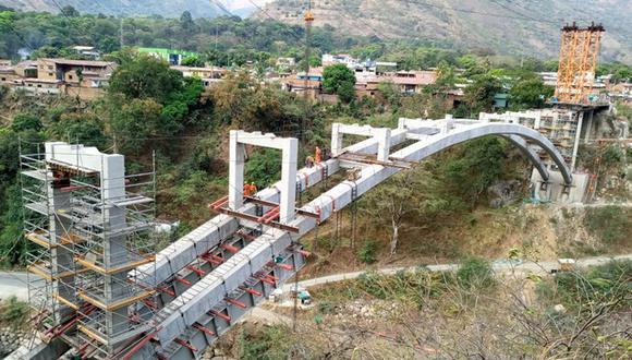 MTC reanuda construcción de puente Maranura que conectará Cusco y Ayacucho (Foto: MTC)