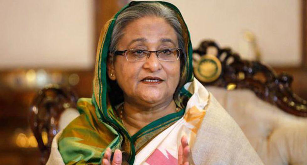 Sheikh Hasina Wajed, primera ministra de Bangladesh. (Reuters).