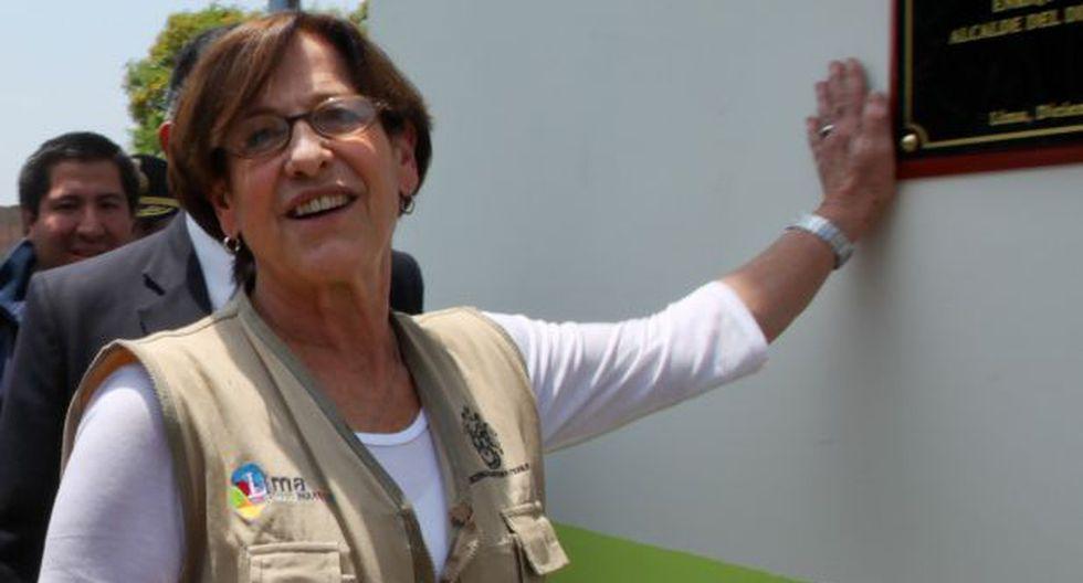 """Villarán: """"Agradezco a Salomón pero no pienso en la reelección"""""""