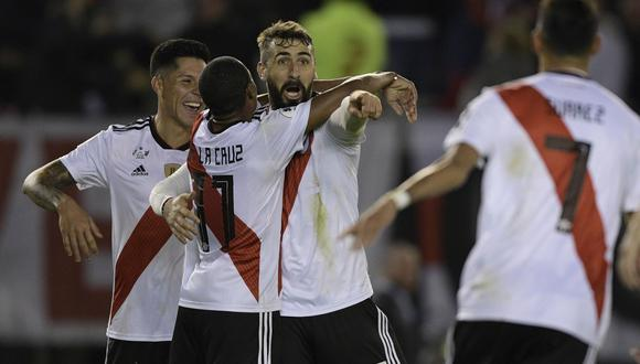 River Plate venció a Paranaense y se quedó con la Recopa Sudamericana. (Foto: AFP)