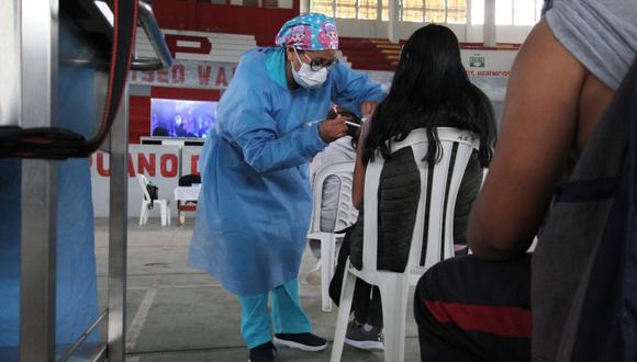La cobertura de vacunación continúa  baja en Junín, en comparación con otras regiones. (Foto: GEC/referencial)