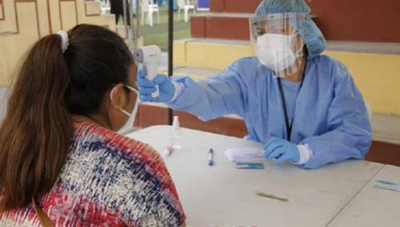Áncash: centro de operaciones fue instalado para atender a pacientes con COVID-19 (Foto difusión).