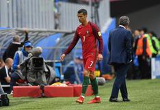 ¿Cristiano Ronaldo se enfadó con Fernando Santos por sustituirlo ante Nueva Zelanda?