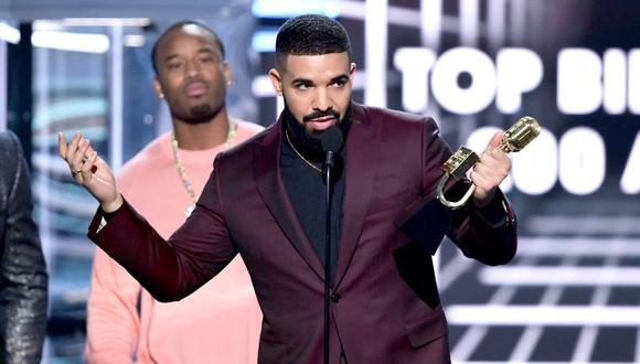El artista canadiense Drake fue el principal ganador de los Billboard Music Awards (BBMA) de 2019, con 12 galardones. (Foto: AFP/Kevin Winter)