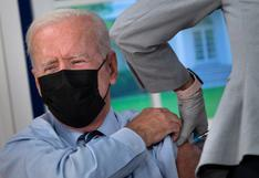 Biden recibe la tercera dosis de la vacuna Pfizer contra el coronavirus