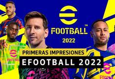 eFootball 2022 - Primeras impresiones: Es como si los jugadores fueran de plastilina