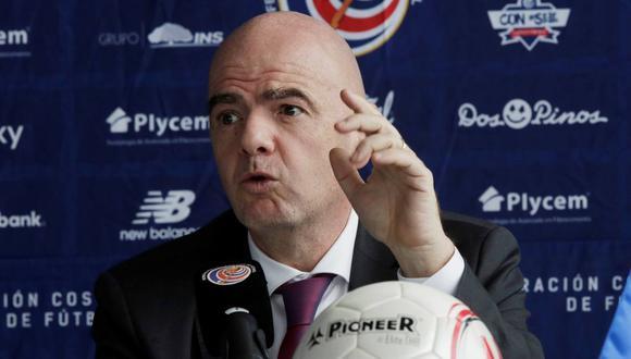 Gianni Infantino se pronunció frente a la creación de la Superliga europea. (Foto: Reuters)