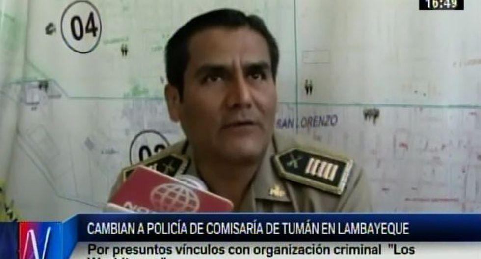 Tumán: casi todos los policías de la comisaría fueron cambiados