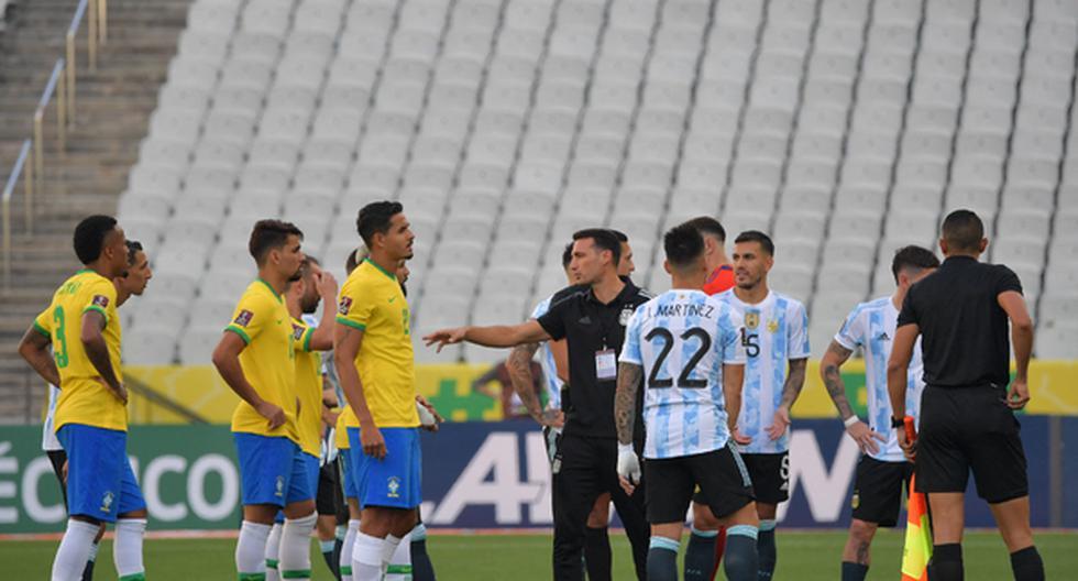 Argentina vs. Brasil: AFA confirmó que el partido por Eliminatorias Qatar 2022 quedó suspendido   Último minuto   Fútbol en vivo   nczd dtbn   DEPORTE-TOTAL   EL COMERCIO PERÚ
