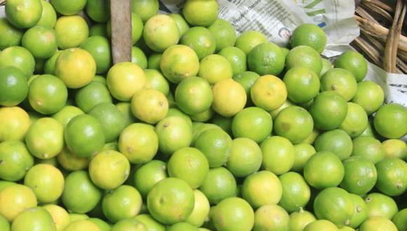 La escalada del limón obedece a un fenómeno estacional. (Foto: USI)