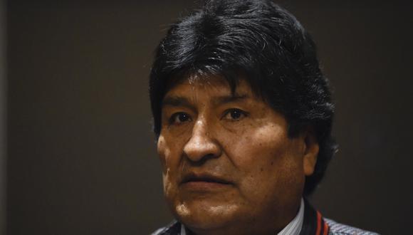 El proceso abierto contra Evo Morales se sustenta luego de un audio donde supuestamente se escucha al exgobernante dando instrucciones a uno de sus partidarios para que bloquee caminos y se interrumpa el suministro de comida. (Foto: AFP)
