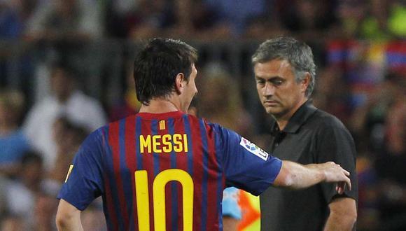 José Mourinho se refirió a la influencia de Lionel Messi en su trabajo. (Foto: AP)