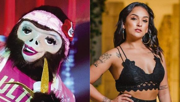 """""""La Máscara"""": Daniela Darcourt fue eliminada tras revelar que se disfrazó de mona (Foto: Instagram)"""