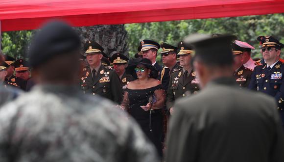 """""""No se ama lo que no se conoce"""", dijo ayer Julia Panta, viuda del héroe. Ella espera que el Estado realice los honores que su esposo merece. (Rolly Reyna / El Comercio)"""