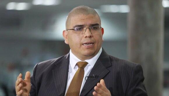 El ministro Fernando Castañeda informó sobre la situación de los penales frente al coronavirus  (Foto: GEC)